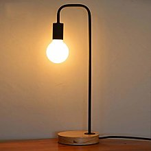 Light -YRQ Lampe de Table Minimaliste, Lampe de