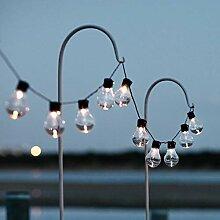 Lights4fun Guirlande Guinguette 20 Ampoules LED