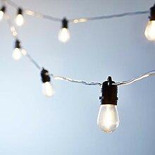 Lights4fun Guirlande Guinguette Solaire de Haute