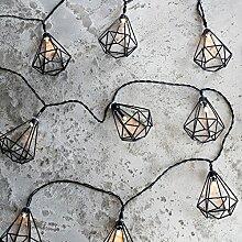Lights4fun Guirlande Lumineuse 10 Lanternes