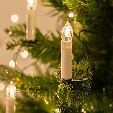 Lights4fun Guirlande Lumineuse de Noël avec 50
