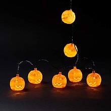 Lights4fun Guirlande Lumineuse Halloween à Piles