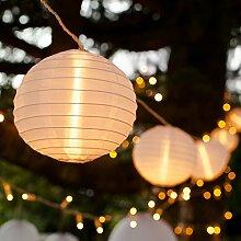 Lights4fun Guirlande Lumineuse LED Raccordable