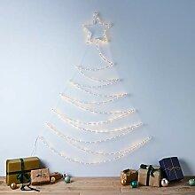 Lights4fun Sapin de Noël à Suspension avec 200