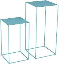 LILAODA Tables de Nidification Art Art Table