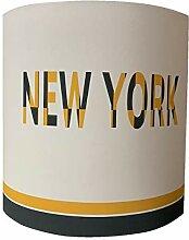 LILI Pouce - Applique New York, Jaune, Diam. 20 cm