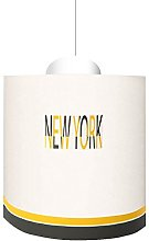 LILI Pouce - Suspension New York, Jaune, Diam. 20