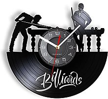 LIMN 12 Pouces Horloge Murale Billard Horloge