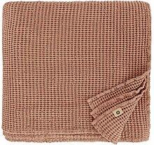 Linen & Cotton Couverture Couvre-lit Gaufré