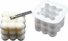 Lingge Bricolage Bougies Moule 3D Silicone Moule