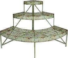 linoows Escalier pour plantes au design industriel