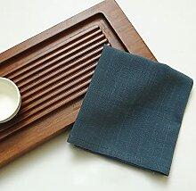 LINSO 40X30Cm Mariage Coton Linge de Table
