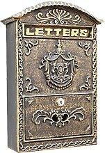 LIOYUHGTFY Boîte Aux Lettres Murale Boîtes aux