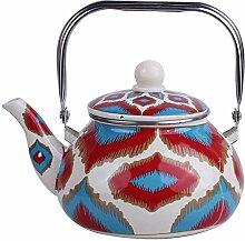 LIPENLI Pot d'émail chinois maison bouilloire