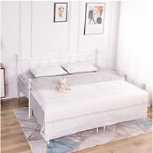 Lit adulte contemporain en métal -canapé lit+lit