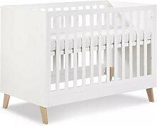 Lit bébé évolutif 120x60 Noah 60 cm x 120 cm