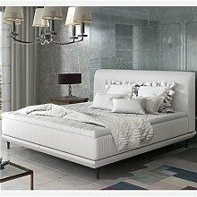 Lit blanc design 180x200 cm ASTANA