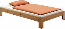 Lit futon THOMAS couchage simple 120 x 200 cm 1