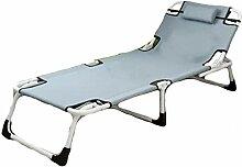 Lit simple pour sieste ou bureau inclinable -