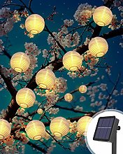 Litogo Guirlande solaire Exterieur, Lampion