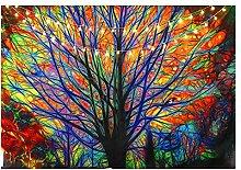 litulituhallo Tapisserie de peinture à
