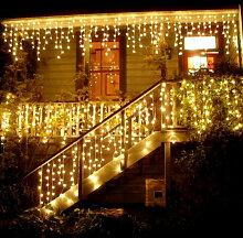 Litzee - 96 LED guirlandes lumineuses en fil de