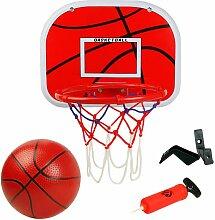 LITZEE Panier de Basketball avec Basket-Ball Et
