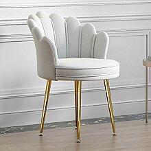 LIUD Chaise De Bureau Rose Moderne Tabouret De