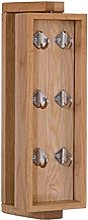 liushop Cintre - Boîte à clés créative en bois