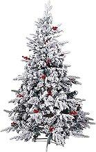 LIUTIAN Arbre de Noël artificiel Neige Sapin