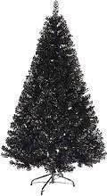 LIUTIAN Arbre de Noël artificiel noir artificiel