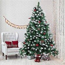 LIUTIAN Spruce Sapin de Noël décoré de cônes