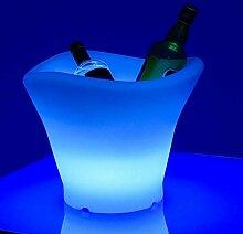 LIVEDECO - Seau à Champagne 42S Lumineux à LED
