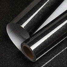 Livelynine Covering Noir Brillant 40CM*10M Rouleau