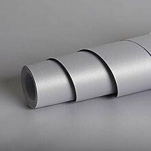 Livelynine Papier Peint Gris Mat de 40CM*10M