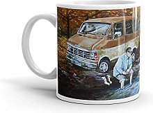 Living in a Van Down by the River. 11 Oz Ceramic