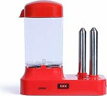 LIVOO Machine à hot-dog, Rouge