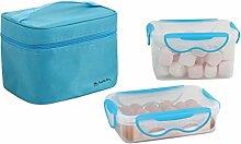 LIVOO SEP109B Lunch Box 2 boites hermetiques,