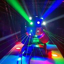 Livraison gratuite Dj laser disco rotation