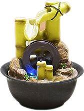 LIXXY Petite fontaine pastorale de bureau en