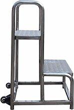 LIYONG Entrepôt Croissant Ladder 2 étapes