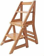 LIYONG Tabouret Pied, 3 étapes - Chaise échelle