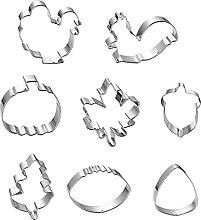 LIZHILIAN Lot d'emporte-pièces en acier