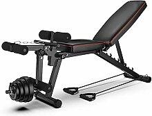 LJBOZ Banc de Musculation Multifonctions