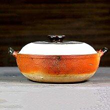 LJM Marmite Japonaise en céramique Donabe,cocotte