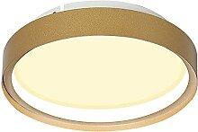 LJMYQL Plafonnier circulaire à LED, D25 * H6CM,