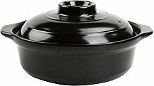 LJYLF Stockage De Chaleur Céramique Casserole,