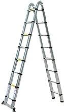 LLDKA Échelle télescopique 5M Échelle Simple