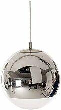 LLT Lampe de Pendentif À Boule de Verre Moderne