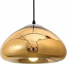 LLT Lampe de Plafond En Verre Coloré, Restaurant